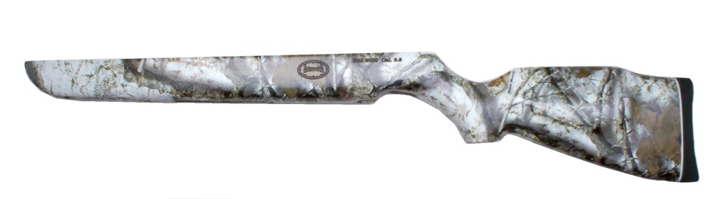 Por tiempo limitado tenemos en promocion la culata original de la marca Mendoza con diseño camuflage compatible para todos los rifles Magnum de Mendoza.