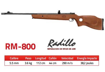 Rifle Mendoza RM-800