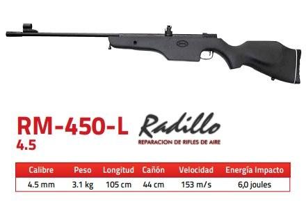Rifle Mendoza RM-450-L